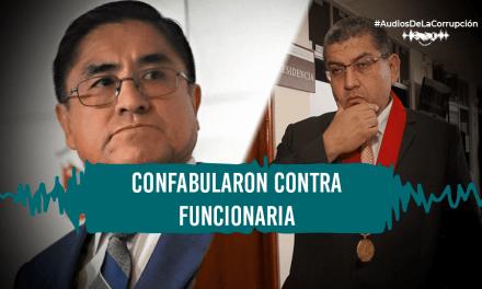 """Hinostroza y Ríos acordaron """"taparle la boca"""" a empleada que se les opuso"""