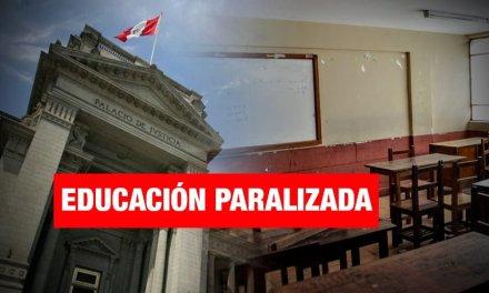 """Currículo escolar: """"Poder Judicial ha paralizado la educación"""""""