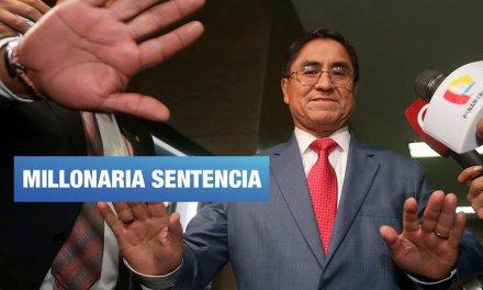 César Hinostroza intervino en juicio que resolvió pagar S/18 millones a magistrados