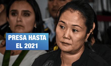 Los argumentos del juez Carhuancho para dictar prisión preventiva contra Keiko Fujimori