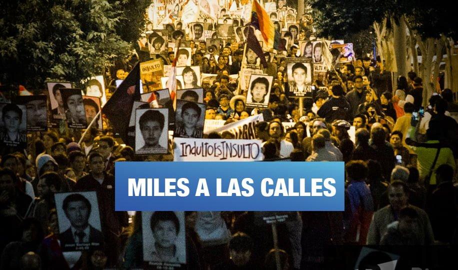 Convocan a marcha contra organización criminal fujimorista