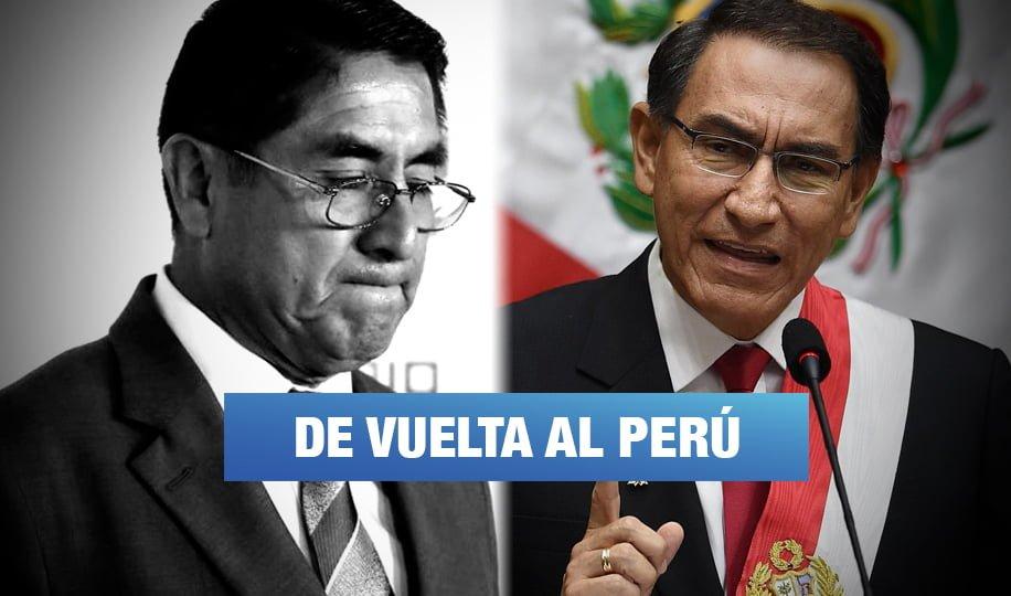 Gobierno extraditará a César Hinostroza tras captura en España