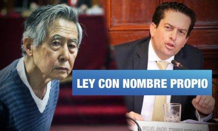 Comisión de Justicia aprobó proyecto que favorece a Alberto Fujimori