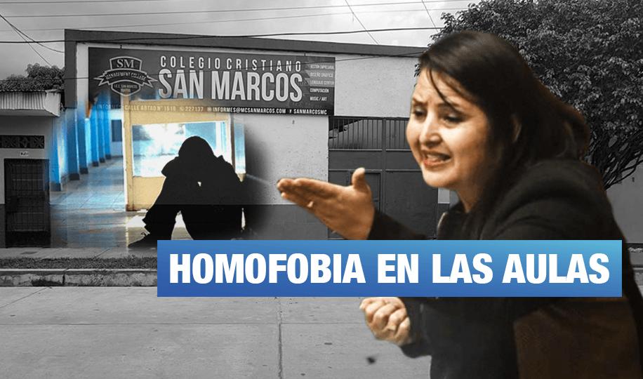 Congresista Tamar Arimborgo llamaba «confundidos» a sus alumnos homosexuales