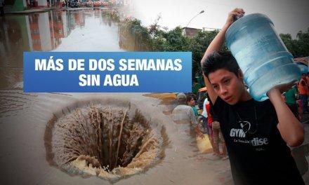 SJL: Ciudadanos marcharán por falta de agua y cambio de tuberías