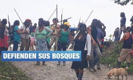San Martín: comunidad awajún de Shimpiyacu protesta contra invasores
