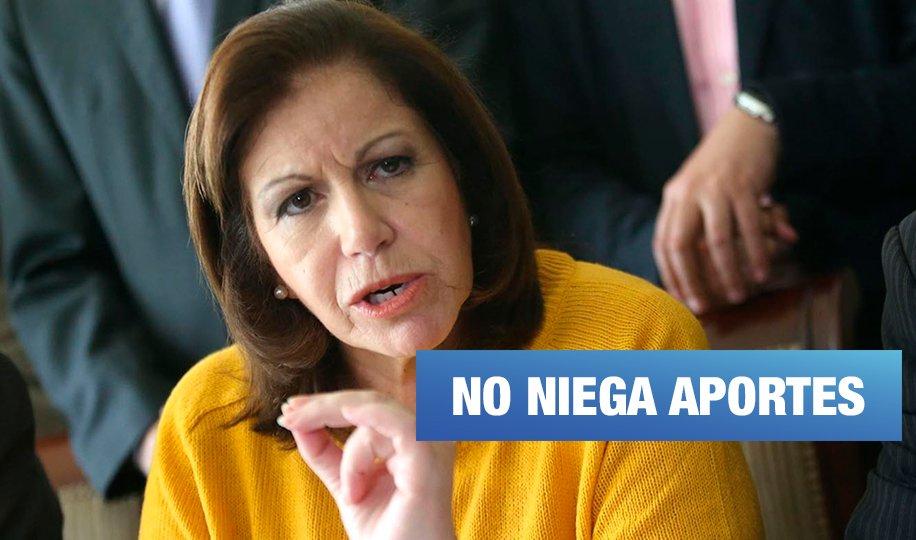 Audio compromete a Lourdes Flores con aportes de Odebrecht