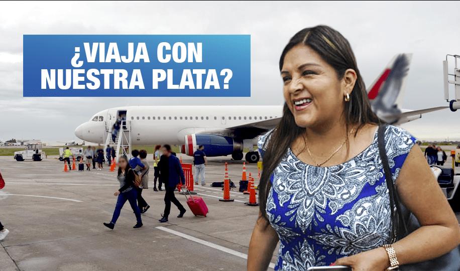 Fiscalía investiga a Beteta por viaje con recursos públicos