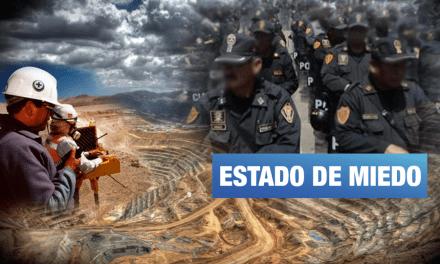 Convenios entre Policía Nacional y empresas extractivas ponen en peligro derechos de la población
