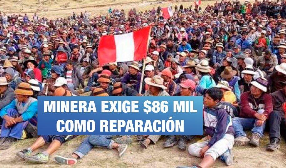 Las Bambas: Comuneros podrían ir hasta 17 años a prisión por conflicto con minera
