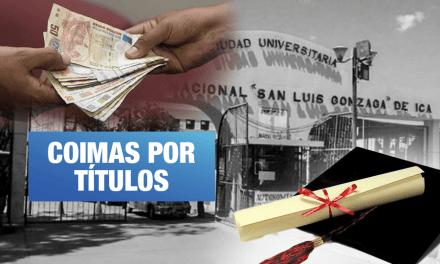 Sunedu denuncia a autoridades de la Universidad San Luis Gonzaga de Ica