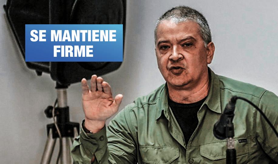 """Pedro Salinas: """"No me voy a rectificar"""""""