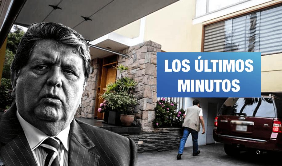 Ministro del Interior desmiente versión aprista de diligencia en casa de Alan