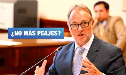 Jorge Muñoz y el concejo municipal evaluarán anular peajes de Lima