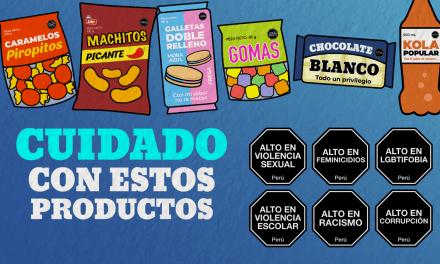 [GRÁFICA] Octógonos: Productos nocivos en el Perú
