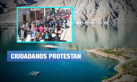 Tacna: Laguna Aricota en peligro por acción de empresa Southern