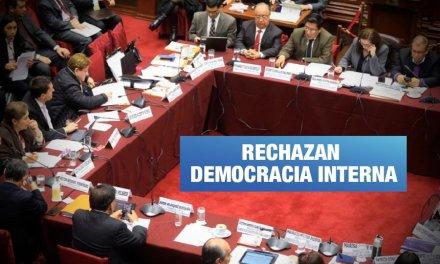 Fujimorismo se opone a reforma de partidos políticos y no respeta cuestión de confianza