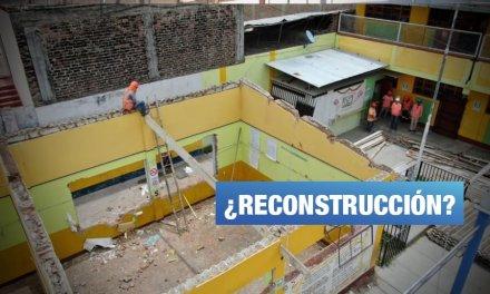 Ningún colegio afectado por fenómeno El Niño en Piura ha iniciado obras