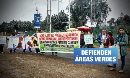Comas: Ampliación del Metropolitano afectaría parque Sinchi Roca