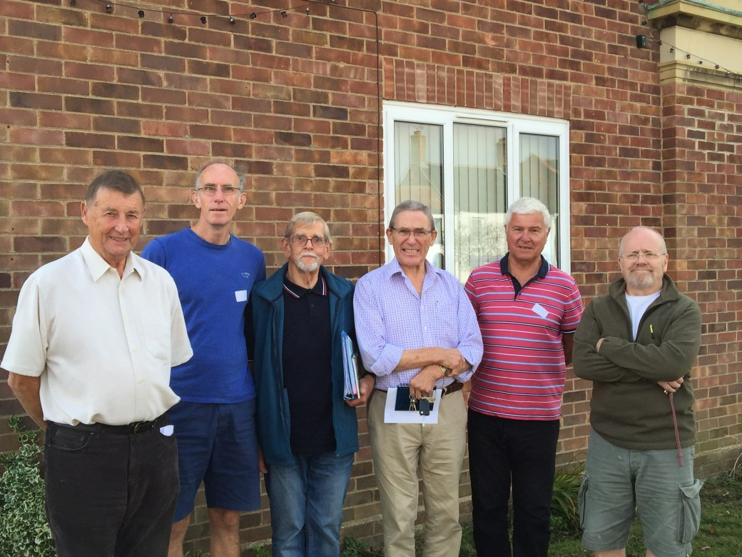 Wayland Men's Shed Team
