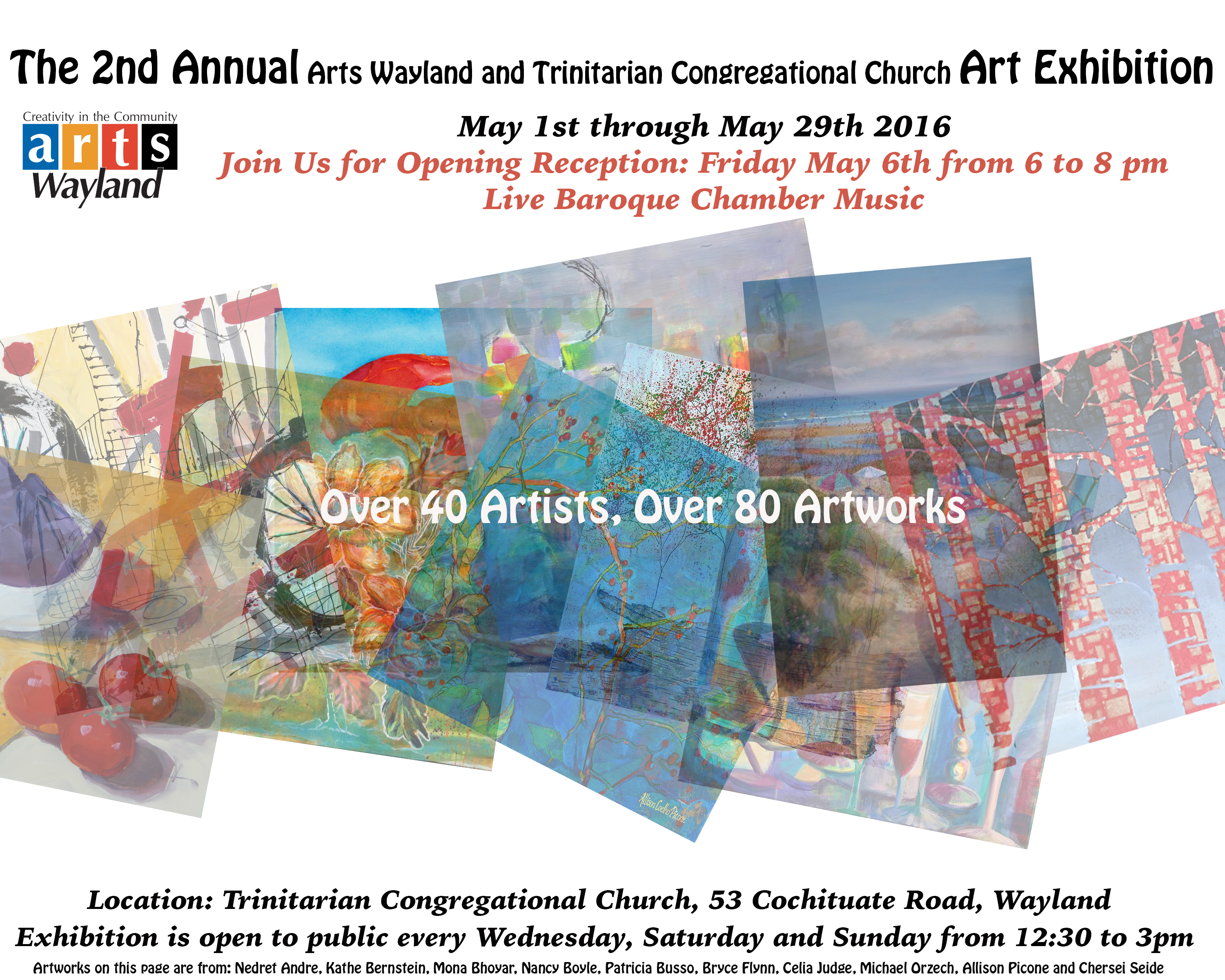 Art exhibits waylandenews 2nd annual arts wayland and tcc art exhibition may 1 29 fandeluxe Choice Image