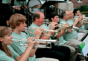 Needham Summer Arts in the Park: Needham Community Band @ Needham's Memorial Park Gazebo | Needham | Massachusetts | United States