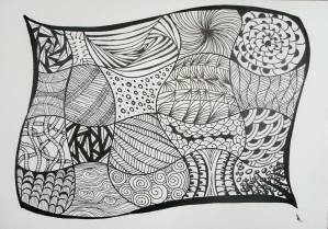 Zentangle @ Wayland Town Building | Wayland | Massachusetts | United States