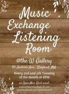 Music Exchange Listening Room @ @ The W Gallery