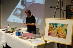 Improve Your Watercolor Skills with Nan Rumpf class @ the W Gallery