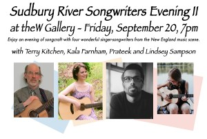 Sudbury River Songwriter's Evening @ Arts Wayland Gallery