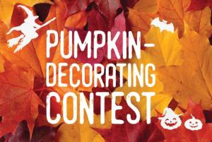 Pumpkin Decorating Contest! Ages 3-11 @ Wayland Library