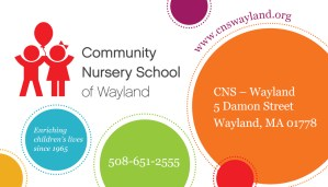 Open House at Community Nursery School @ Community Nursery School