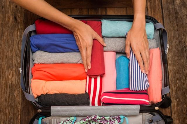 aprovechar bien el espacio de la maleta