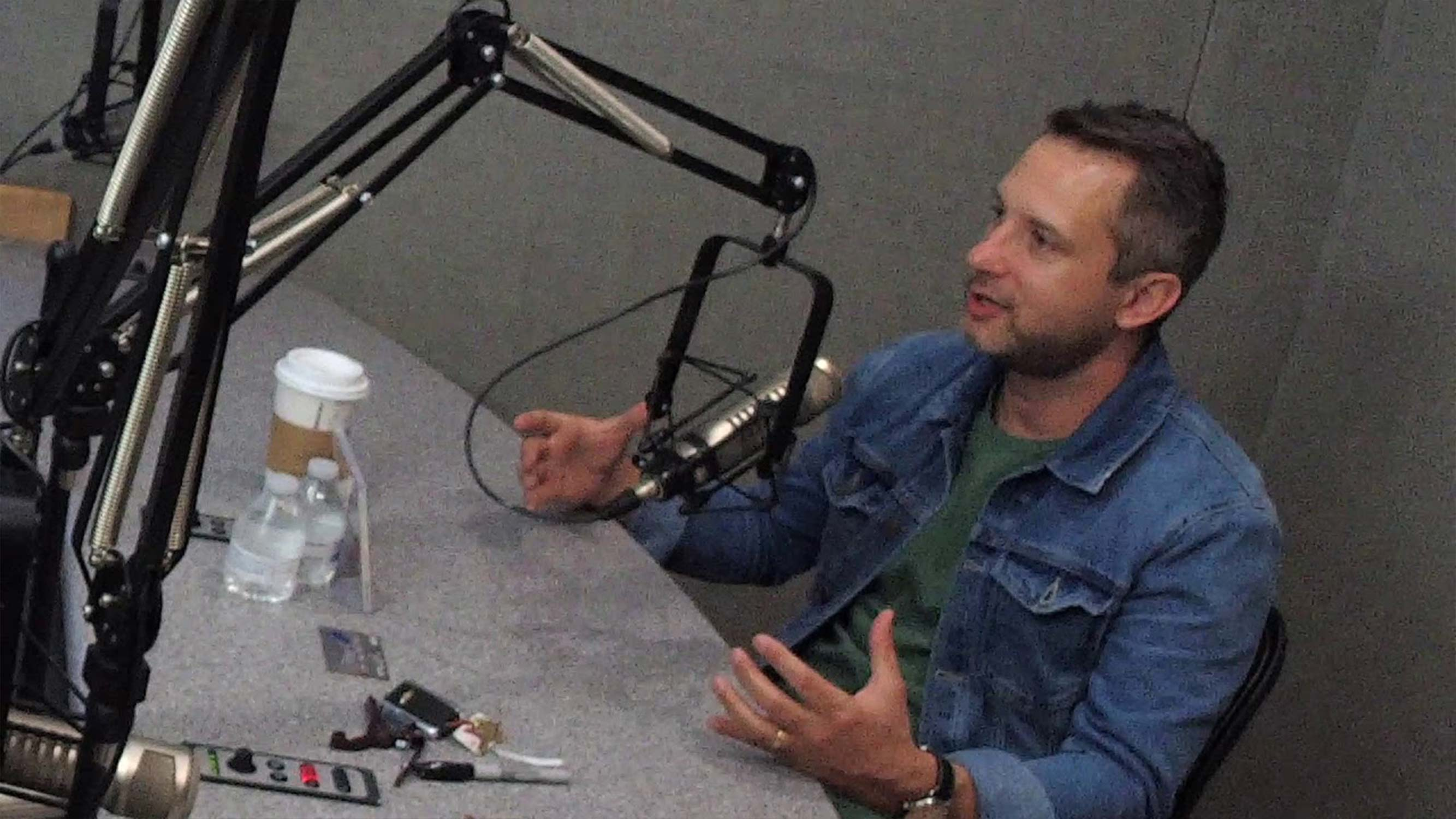 Brandon Heath on Reconciling With His Dad Before His Death
