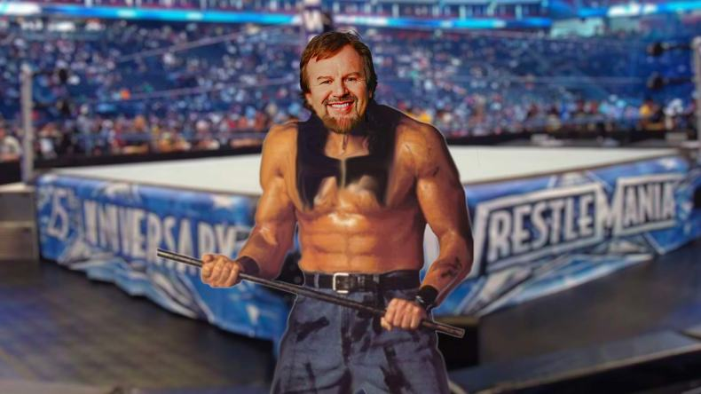 Christian Music Artists as Professional Wrestlers Casting Crowns Casting Crowbars