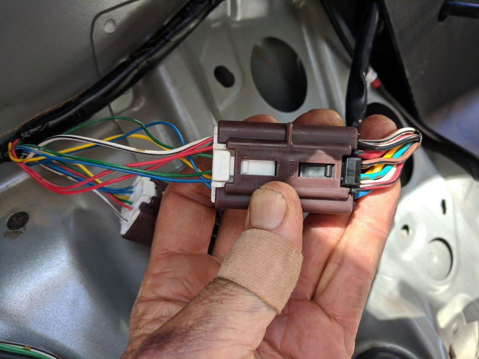 How to wire a factory towbar harness on a 2011 Toyota ... To Wiring Harness on