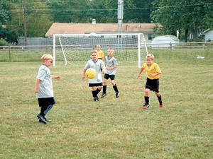 Upward Soccer Season for 2003 is set to begin. Registration July 7th.
