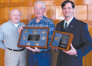 (left-right) Walter Font, James Stahl, and Todd Maxwell Pelfrey.
