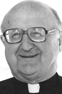 MSGR. J. WILLIAM LESTER, 90
