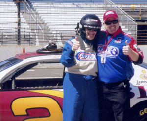 Vincent Muntzinger Drive NASCAR at 90