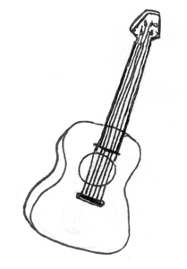 THE PAINTED GUITAR