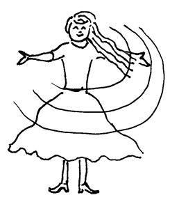 THE TWIRLING PRINCESS
