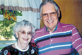 WALTER AND DOROTHY LANGLEY CELEBRATE 70 YEARS