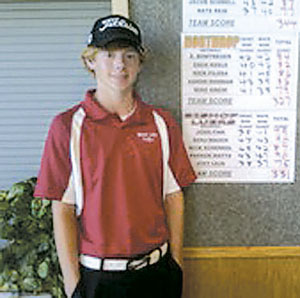 Sophomore Joe Leja won the Sac Individual Title shooting 77 last year. Leja joins team members Parker Watts, John Fink, Ben Mauch, and Joe Korjenck returning to the 2012 Luers Boys Golf Team.