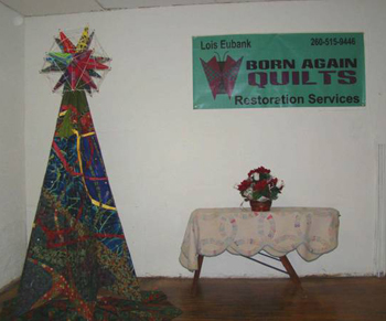 """Oh! Christmas Tree!"" where spiritual inspiration, engineering and quilting meet!"