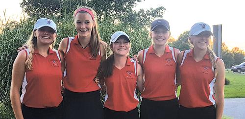 Luers Girls Golf Team 2016