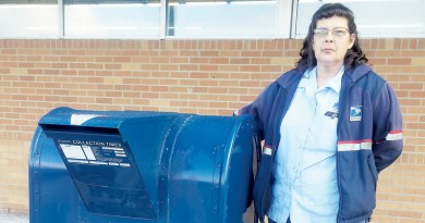 POSTAL SERVICE ASKS TO PLEASE CLEAR SNOW AND ICE