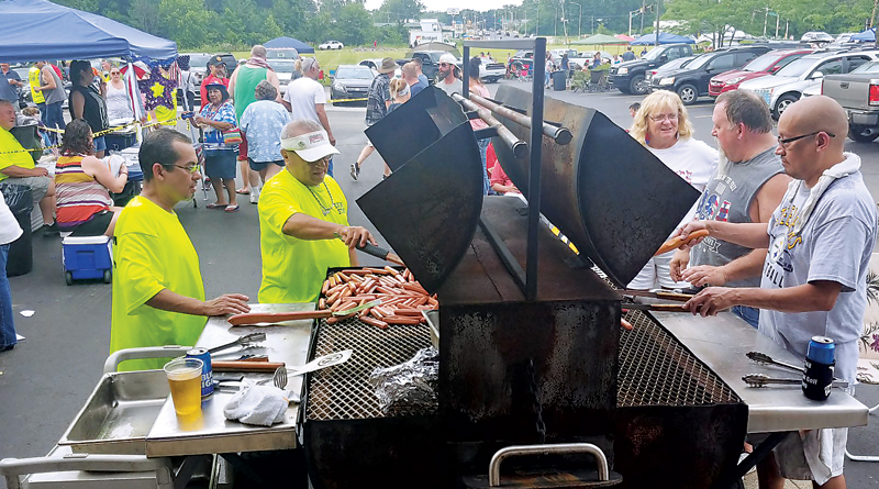 EAGLES HOST HUGE COMMUNITY PARTY IN HONOR OF INDEPENDENCE DAY