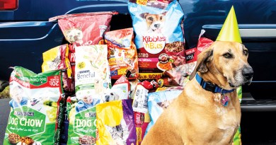 CHARLIE HOSTS BIRTHDAY BASH IN SUPPORT OF PET FOOD PANTRY
