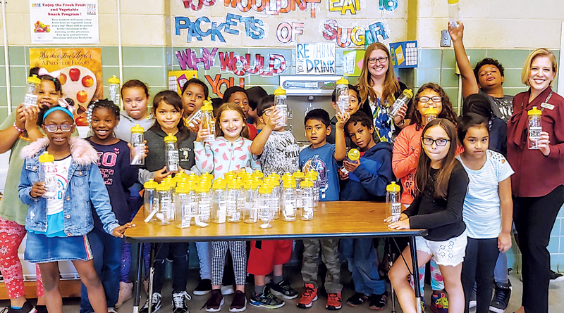 'WATER'S COOL AT SCHOOL' PROGRAM LAUNCHES IN FORT WAYNE
